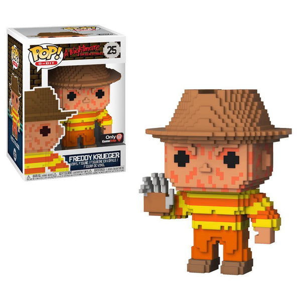 freddy Krueger 8-bit Nightmare on Elm Street NES GameStop Exclusive Funko Pop! Vinyl-The Nerdy Byrd
