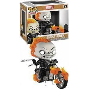 Ghost Rider Marvel Exclusive Funko Pop! Vinyl-The Nerdy Byrd