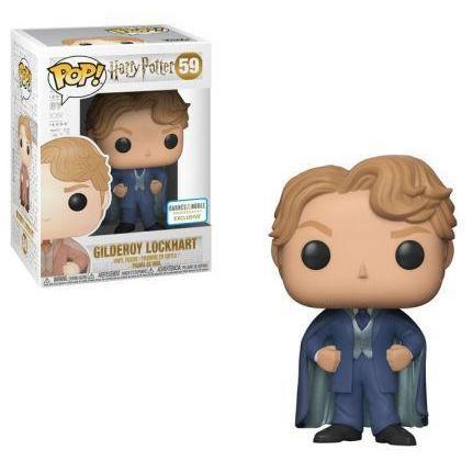 Gilderoy Lockhart Harry Potter Barnes & Noble Exclusive Funko Pop! Vinyl-The Nerdy Byrd