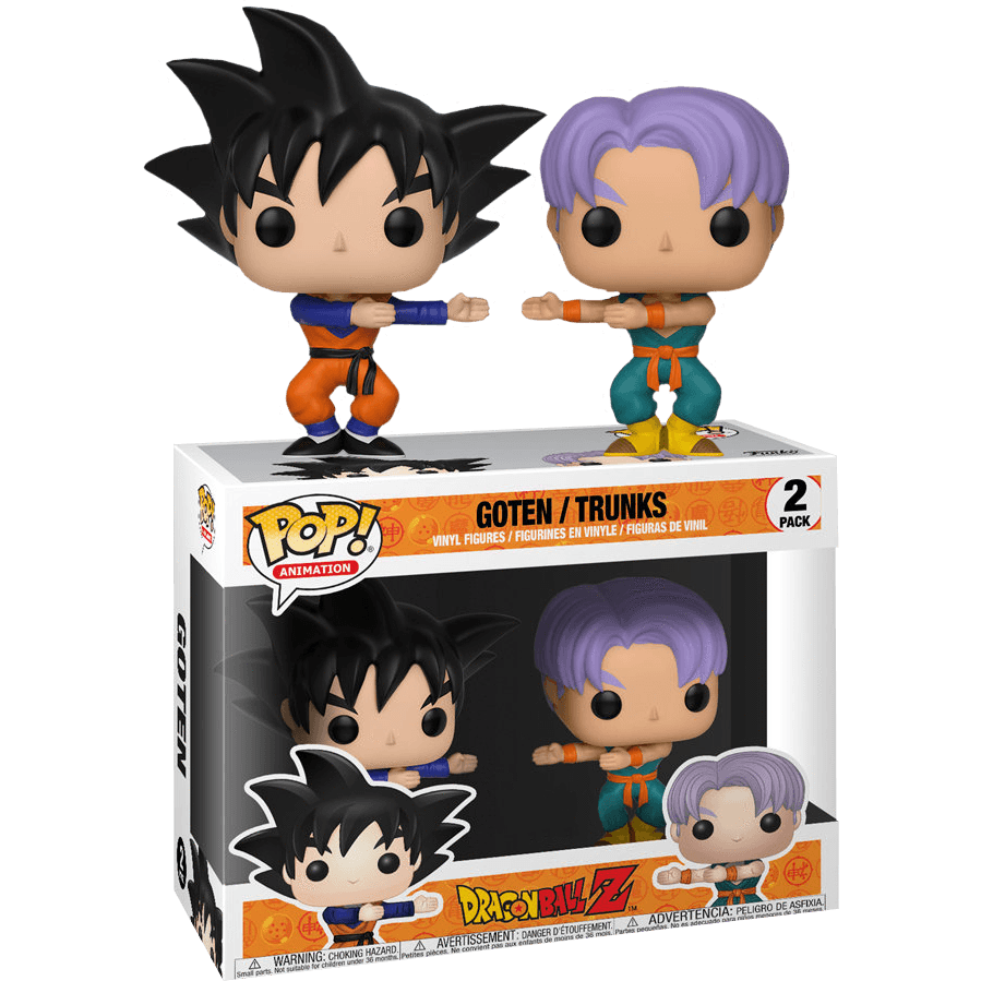 Goten and Trunks Dragon Ball Z 2 Pack Exclusive Funko Pop! Vinyl-The Nerdy Byrd