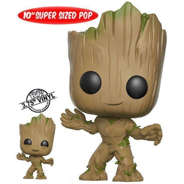 "Groot 10"" Super Sized GOTG Funko Pop! Vinyl-The Nerdy Byrd"
