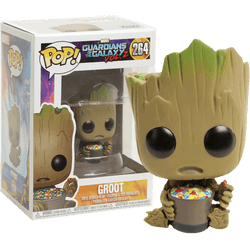 Groot with Candy Bowl GotG Exclusive Funko Pop! Vinyl-The Nerdy Byrd