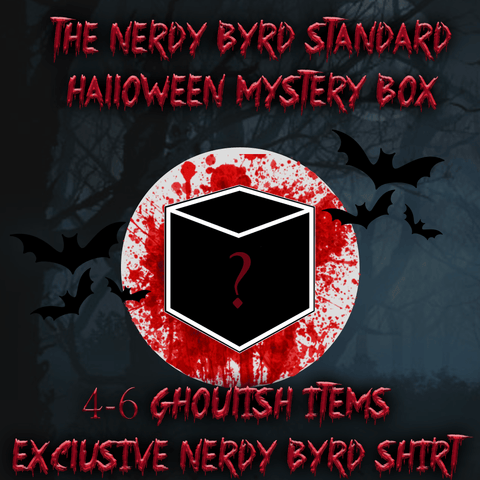 Halloween Standard Mystery Box - The Nerdy Byrd-The Nerdy Byrd
