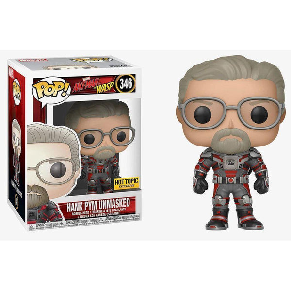 Hank Pym Unmasked Ant-Man & The Wasp Hot Topic Exclusive Funko Pop! Vinyl-The Nerdy Byrd