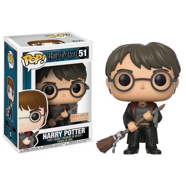 Harry Potter with Firebolt BoxLunch Exclusive Funko Pop! Vinyl-The Nerdy Byrd