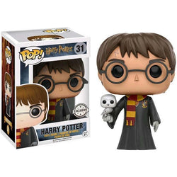 Harry Potter with Hedwig Exclusive Funko Pop! Vinyl-The Nerdy Byrd