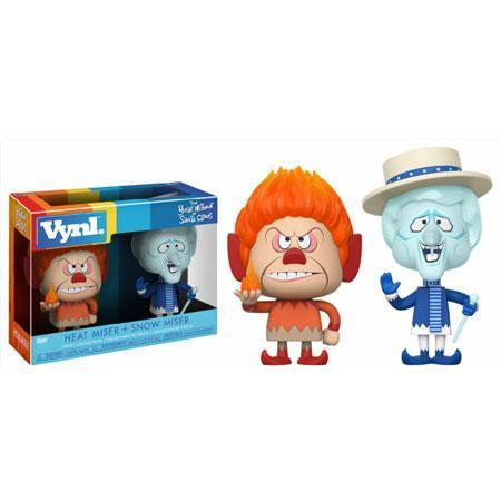 Heat Miser and Snow Miser The Year Without Santa Claus Funko Vynl Figure-The Nerdy Byrd