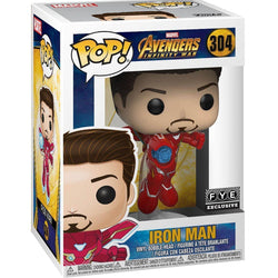 Iron Man Unmasked Infinity War FYE Exclusive Funko Pop! Vinyl-The Nerdy Byrd