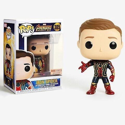Iron Spider Avengers Infinity War BoxLunch Exclusive Funko Pop! Vinyl-The Nerdy Byrd