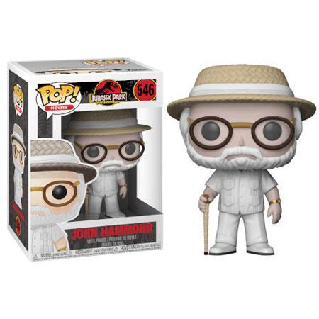 John Hammond Jurassic Park Funko Pop! Vinyl-The Nerdy Byrd