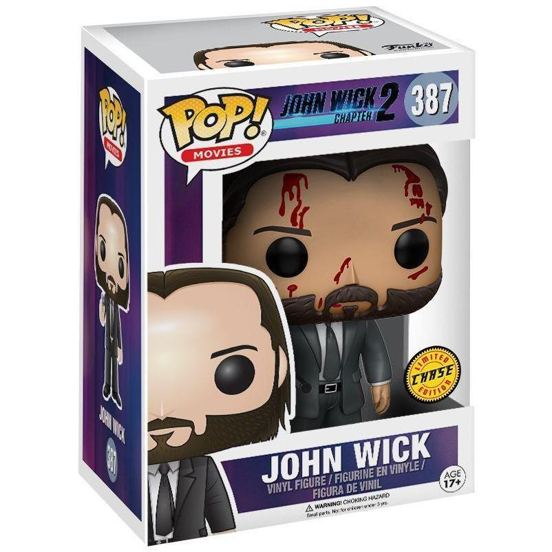 John Wick (Chase) Funko Pop! Vinyl-The Nerdy Byrd