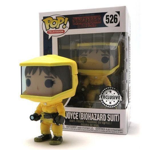 Joyce Biohazard Suit Stranger Things Exclusive Funko Pop! Vinyl-The Nerdy Byrd