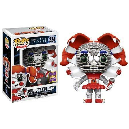 Jumpscare Baby FNAF Sister Location SDCC Funko Pop! Vinyl-The Nerdy Byrd