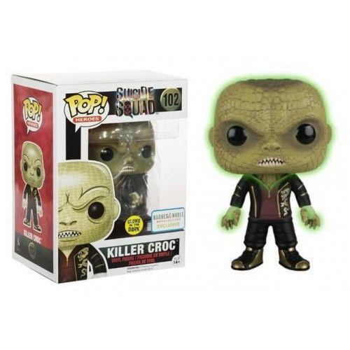 Killer Croc Suicide Squad GitD Barnes & Noble Exclusive Funko Pop! Vinyl-The Nerdy Byrd