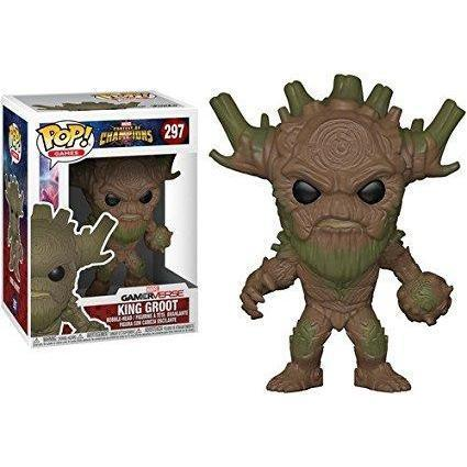 King Groot Marvel Contest of Champions Funko Pop! Vinyl-The Nerdy Byrd