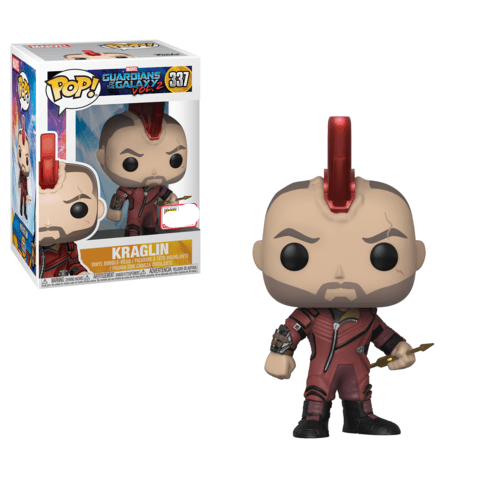 Kraglin GOTG2 Marvel SDCC 2018 Exclusive Funko Pop! Vinyl-The Nerdy Byrd