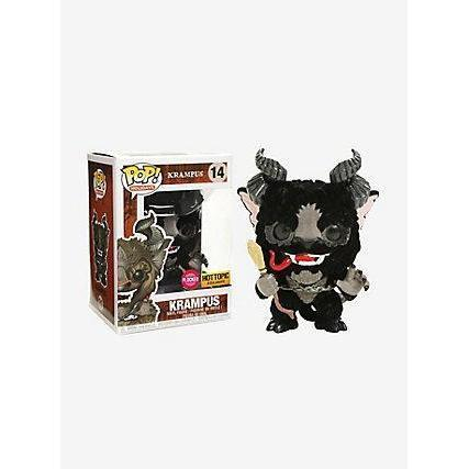 Krampus (Flocked) Hot Topic Exclusive Funko Pop! Vinyl-The Nerdy Byrd