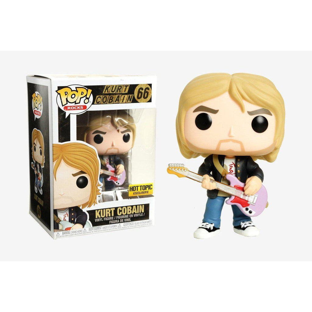Kurt Cobain Rocks Hot Topic Exclusive Funko Pop! Vinyl-The Nerdy Byrd