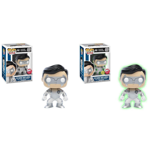 Kyle Rayner White Lantern Fugitive Toys Exclusive Funko Pop! Vinyl (Both Available)-The Nerdy Byrd