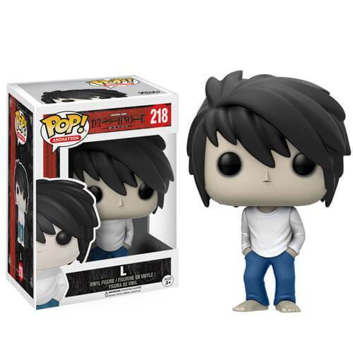 L Death Note Funko Pop! Vinyl-The Nerdy Byrd