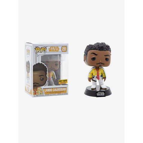 Lando Calrissian Solo Star Wars Hot Topic Exclusive Funko Pop! Vinyl-The Nerdy Byrd