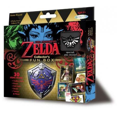 Legend of Zelda Collector's Fun Box-The Nerdy Byrd