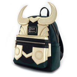Loki Marvel Loungefly Cosplay Backpack-The Nerdy Byrd