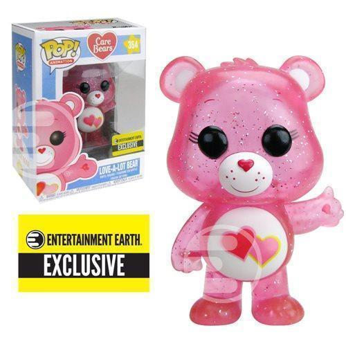 Love-A-Lot Care Bear (Glitter) Exclusive Funko Pop! Vinyl-The Nerdy Byrd