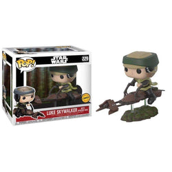 Luke on Speeder Bike (Chase) Star Wars Funko Pop! Vinyl-The Nerdy Byrd