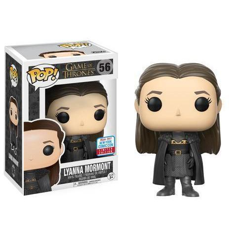 Lyanna Mormont Game of Thrones NYCC 2017 Funko Pop! Vinyl Exclusive-The Nerdy Byrd