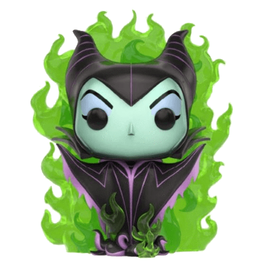 Maleficent (Green Flame) Exclusive Funko Pop! Vinyl-The Nerdy Byrd