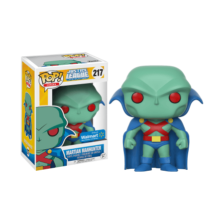 Martian Manhunter DC Walmart Exclusive Funko Pop! Vinyl-The Nerdy Byrd