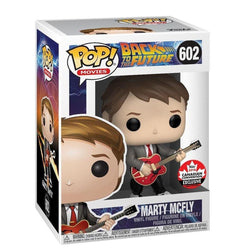 Marty McFly Back to the Future Canadian Expo Exclusive Funko Pop! Vinyl-The Nerdy Byrd