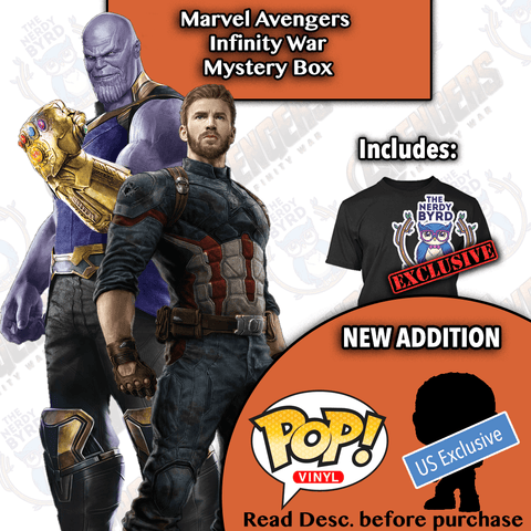 Marvel Avengers Infinity War Mystery Box-The Nerdy Byrd