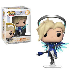 Mercy (Cobalt) Overwatch Exclusive Funko Pop! Vinyl-The Nerdy Byrd