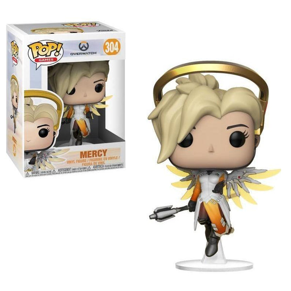Mercy Overwatch Funko Pop! Vinyl-The Nerdy Byrd