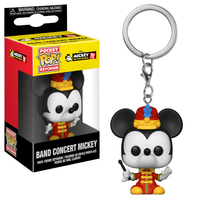 Mickey Mouse Conductor 90th Anniversary Funko Pocket Pop! Keychain-The Nerdy Byrd