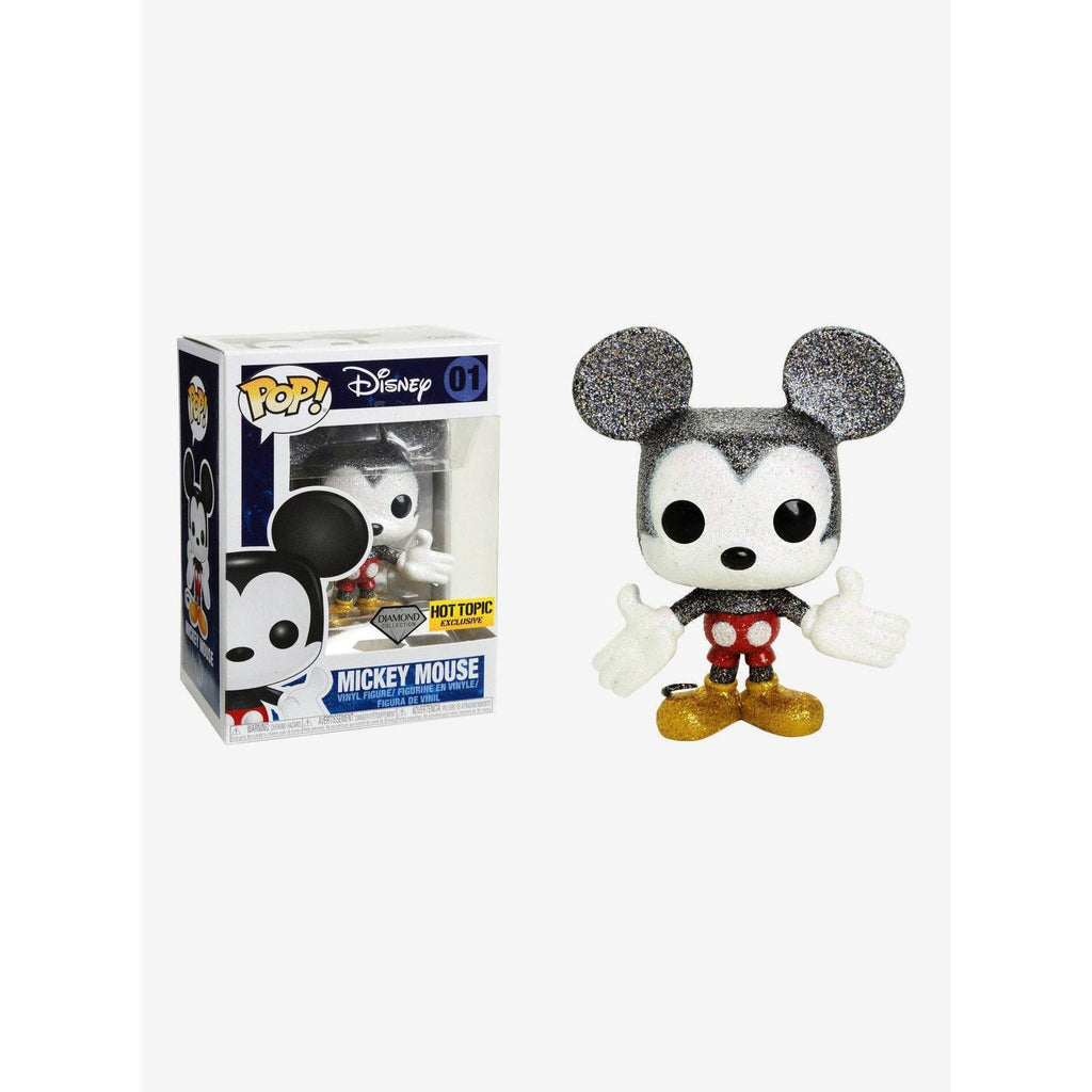 Mickey Mouse Diamond Collection Hot Topic Exclusive Funko Pop! Vinyl-The Nerdy Byrd