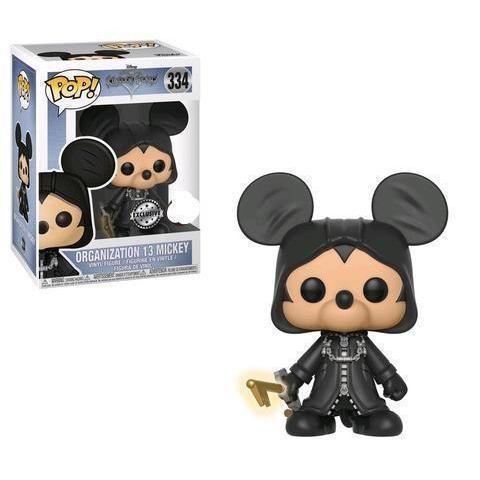 Mickey (Organization 13) Kingdom Hearts Exclusive Funko Pop!-The Nerdy Byrd