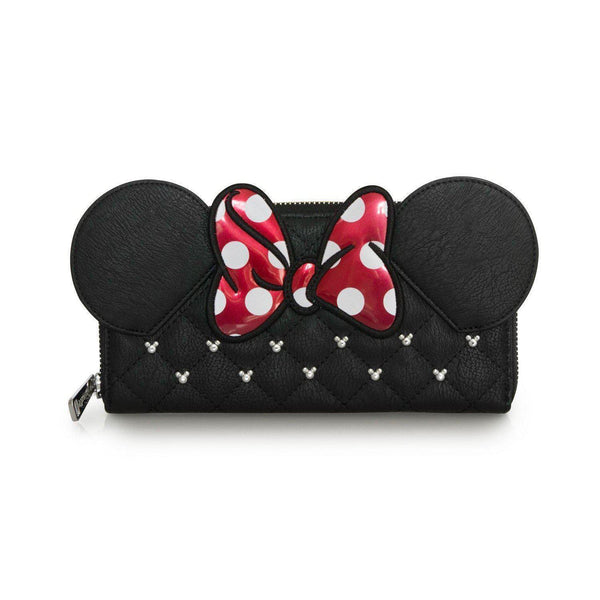 Minnie Mouse Bow Loungefly Wallet-The Nerdy Byrd
