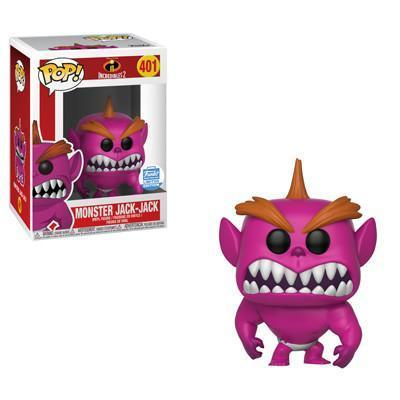Monster Jack-Jack The Incredibles Funko Shop Exclusive Funko Pop! Vinyl-The Nerdy Byrd