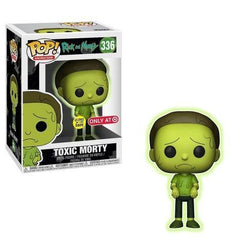 Morty (Toxic) Rick & Morty Target Exclusive Funko Pop! Vinyl-The Nerdy Byrd