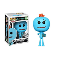 Mr. Meeseeks (With Box) Rick and Morty Exclusive Funko Pop! Vinyl-The Nerdy Byrd