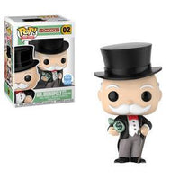 Mr Monopoly Moneybags Funko Shop Exclusive Funko Pop! Vinyl-The Nerdy Byrd