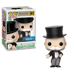 Mr. Monopoly Uncle Pennybags Walmart Exclusive Funko Pop! Vinyl-The Nerdy Byrd