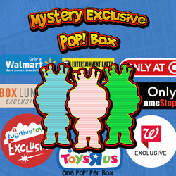 Mystery Exclusive Funko Pop! Box-The Nerdy Byrd
