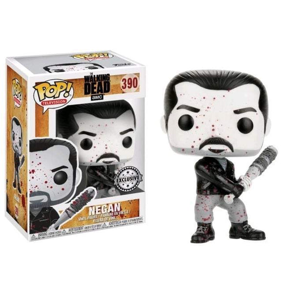 Negan (Bloody B&W) The Walking Dead Exclusive Funko Pop! Vinyl-The Nerdy Byrd