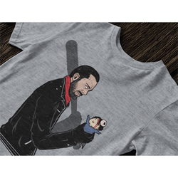 Negan's Stress Ball T-Shirt-The Nerdy Byrd