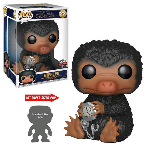 "Niffler 10"" Super Sized Fantastic Beasts 2 Funko Pop! Vinyl-The Nerdy Byrd"