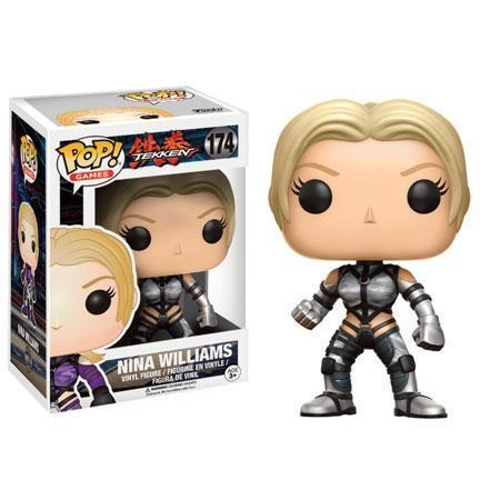 Nina Williams Tekken Funko Pop! Vinyl-The Nerdy Byrd